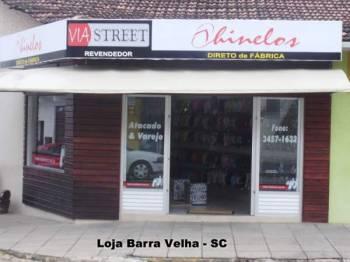 (chinelos) - loja via street barra velha. Guia de empresas e serviços