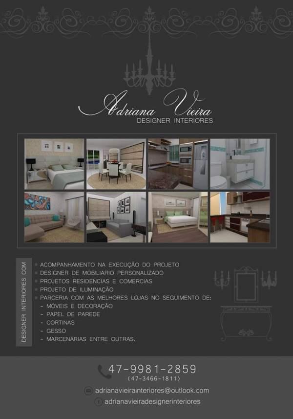 Adriana vieira designer de interiores