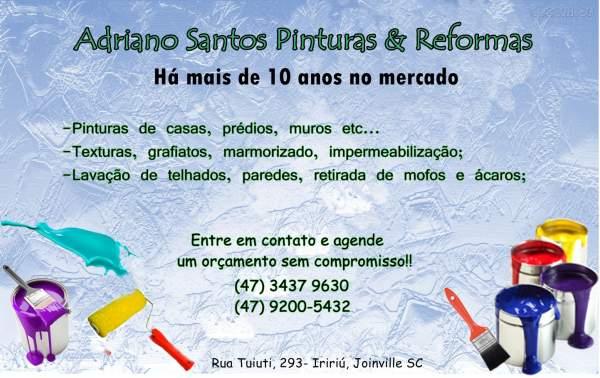 Adriano santos pinturas & reformas