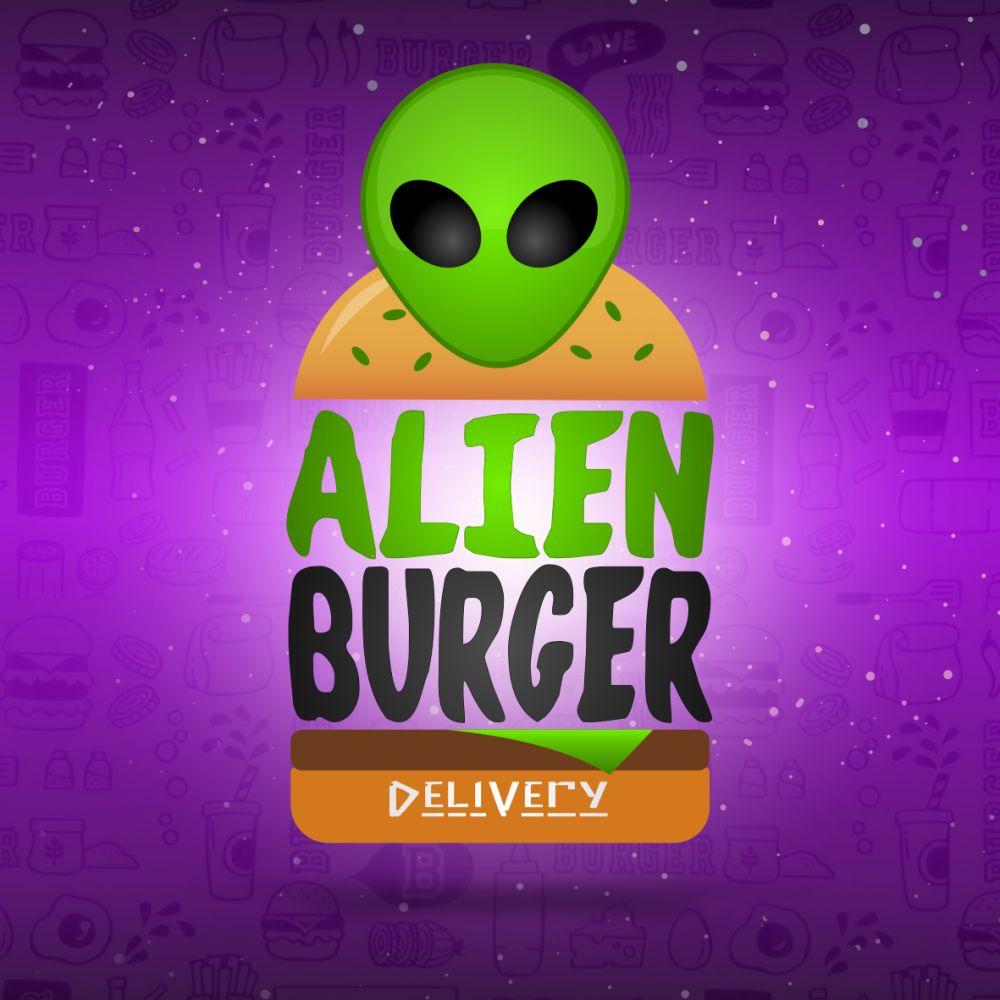 Alien burger delivery
