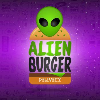 Alien burger delivery. Guia de empresas e serviços