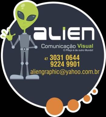 Alien comunicação visual. Guia de empresas e serviços