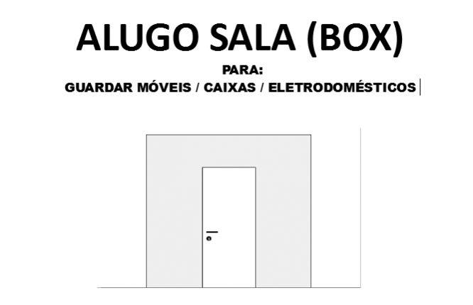 Alugo sala para guardar móveis