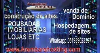 Arambarehosting: hospedagem de sites e domínios. Guia de empresas e serviços