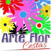 Arte flor cestas