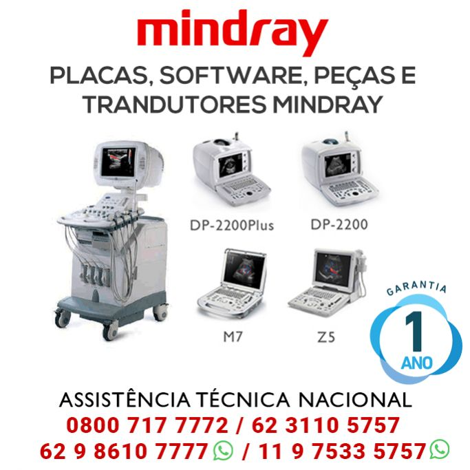 Assistência mindray