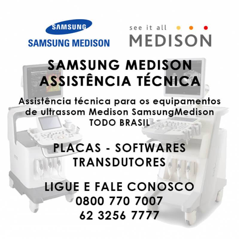 Assistência técnica - samsung medison