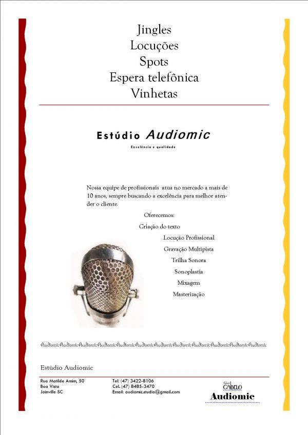 Audiomic estúdio de gravação
