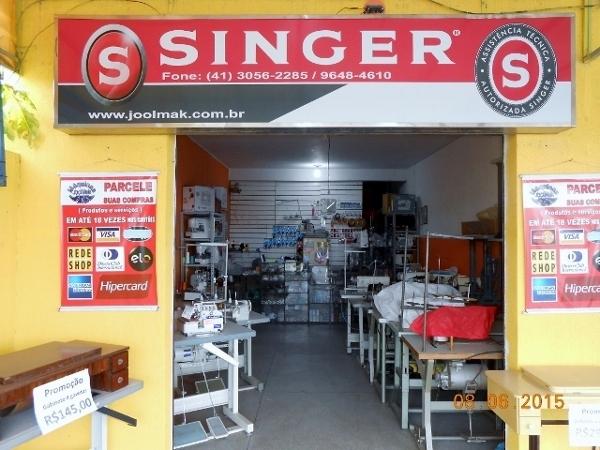 Autorizada singer pinhais