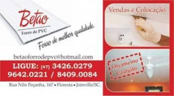 Betao forro de pvc. Guia de empresas e serviços