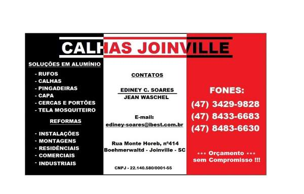 Calhas joinville