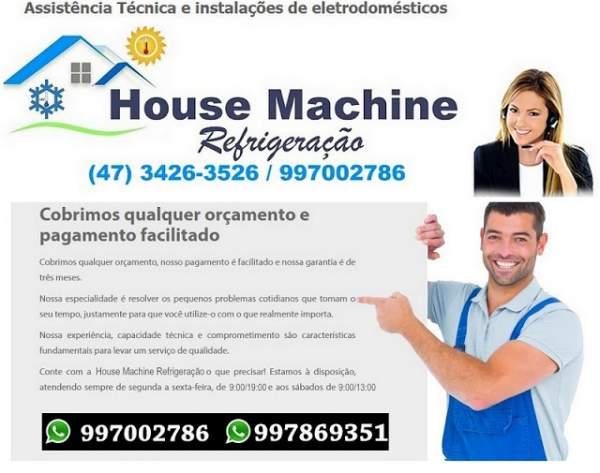 Cobrimos quaisquer orçamento ! house machine refrigeração