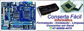Conserta fácil informática. Guia de empresas e serviços