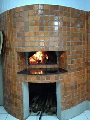 Construção de forno a lenha