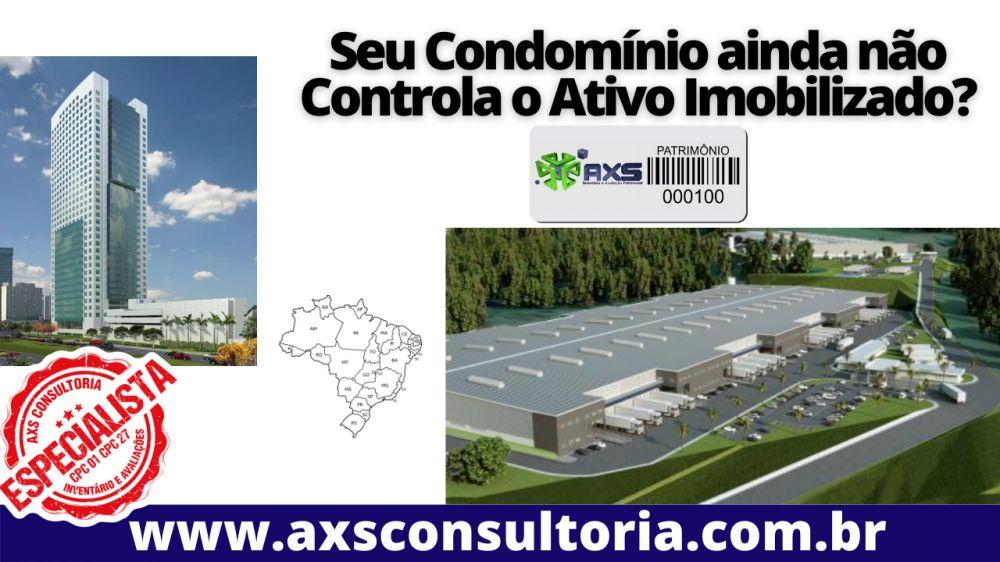 Controle do ativo imobilizado em condomínios residenciais e empresariais - em todo o brasil!