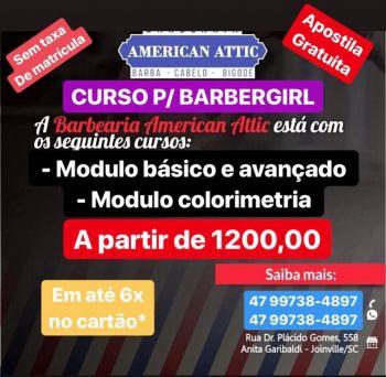 Curso barbergirl. Guia de empresas e serviços