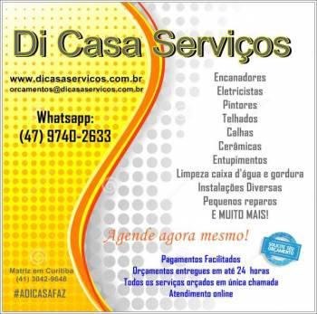 Di casa serviços. Guia de empresas e serviços