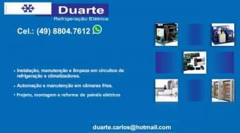 Duarte refrigeração e elétrica. Guia de empresas e serviços
