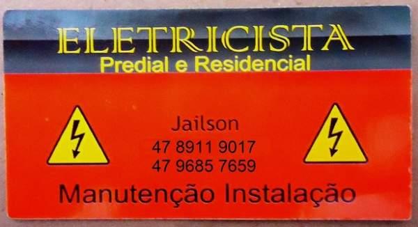 Eletricista jailson