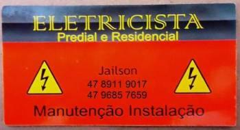 Eletricista jailson. Guia de empresas e serviços