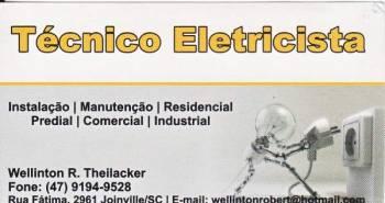 Eletricista wellinton. Guia de empresas e serviços