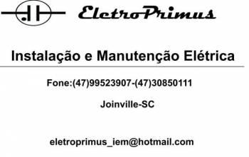 Eletroprimus instalação e manutenção elétrica. Guia de empresas e serviços