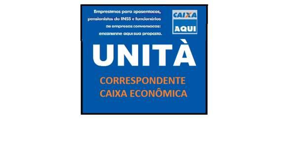 Emprestimos unitá correspondente caixa economica