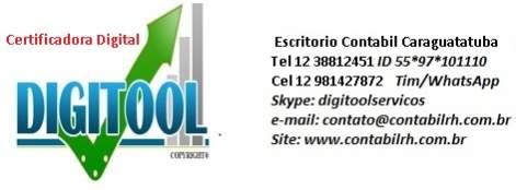 Escritorio contabil e contador tel 12 38812451