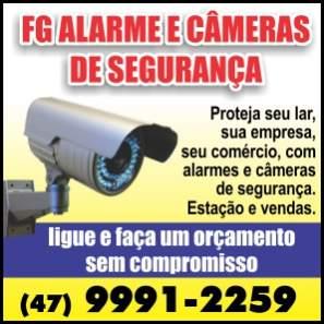 Fg alarmes e cameras