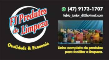 Fj produtos de limpeza. Guia de empresas e serviços