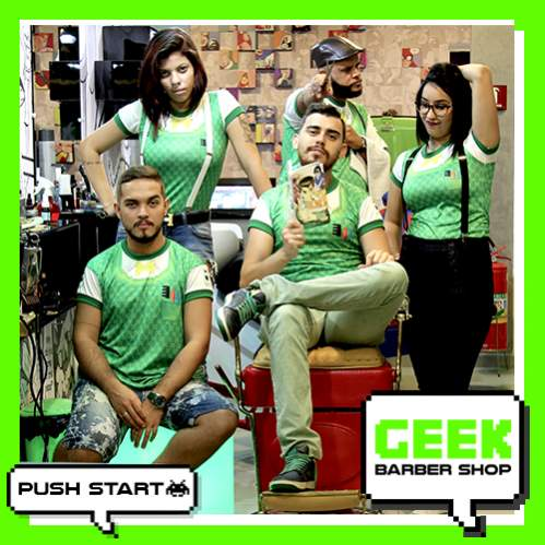 Geek barber shop