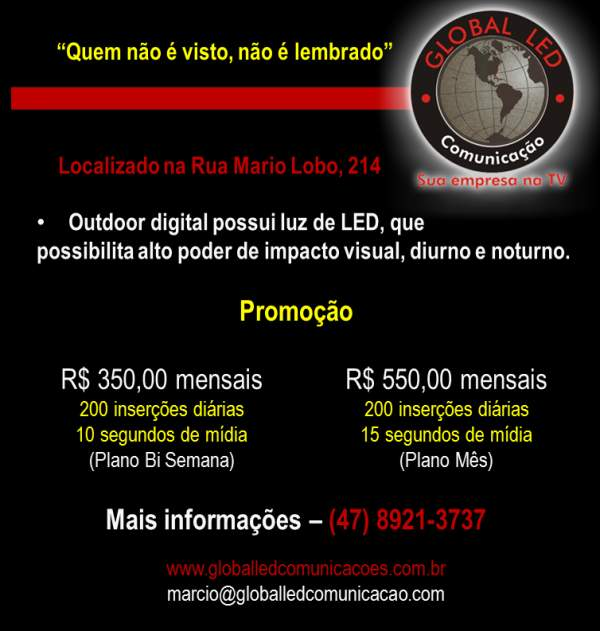 Global led comunicação visual