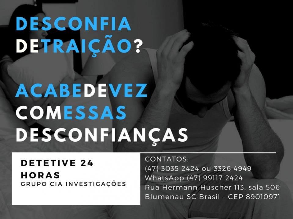 Grupo cia investigações: detetive particular 24h brasil e exterior