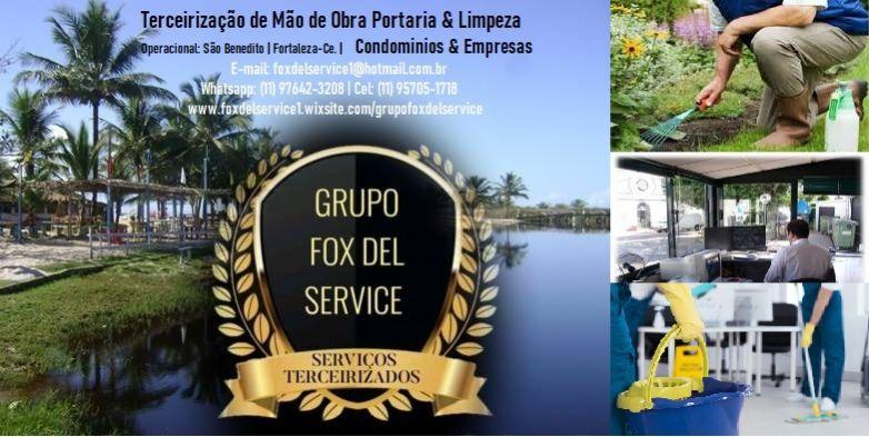 Grupo fox del service terceirização - portaria e limpeza-fortaleza-ce