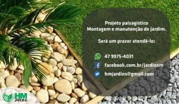 Hm jardins. Guia de empresas e serviços