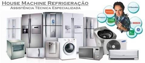 House machine refrigeração - conserto linha branca