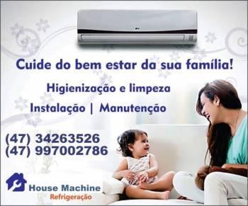 House machine refrigeração - instalações e manutenções split. Guia de empresas e serviços