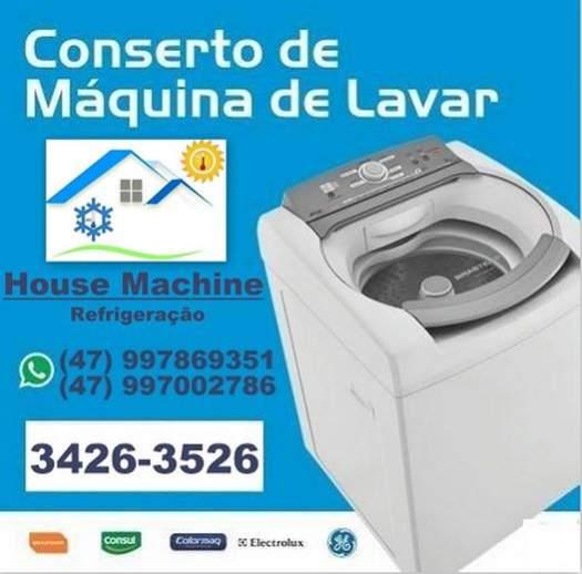 House machine refrigeração-   manutenção eletrodomésticos