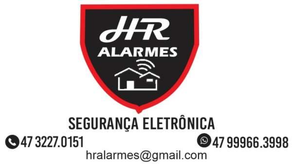 Hr alarmes segurança eletronica