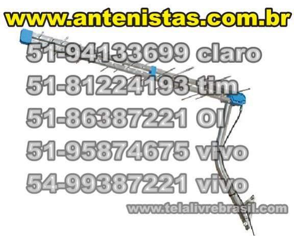 Instalações de antena