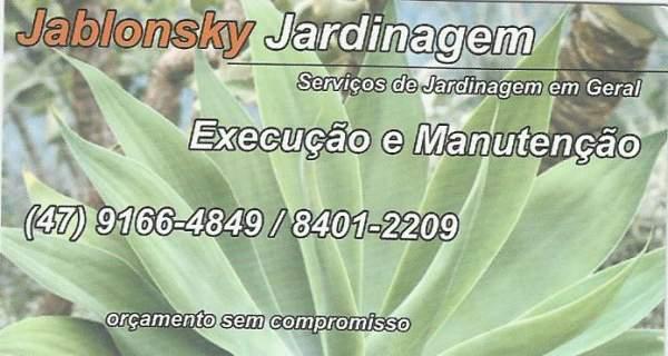 Jablonsky jardinagem