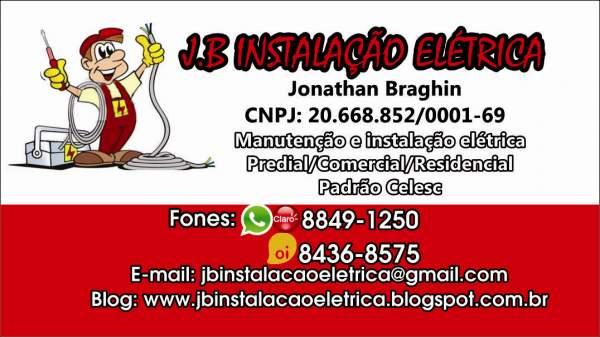 Jb instalação elétrica
