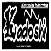 Kadoshi montagens industriais