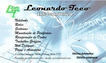 Leonardo teco. Guia de empresas e serviços