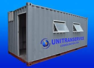 Locação e venda de container marítimo habitável