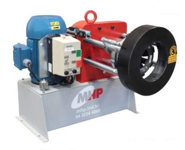 Maquina prensa mangueira hidraulica com estoque de loja