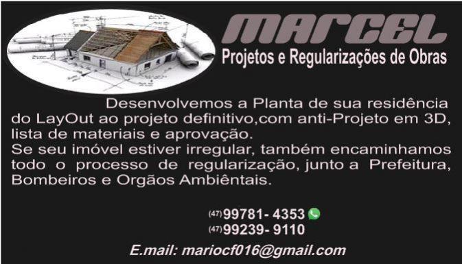 Marcel-plantas & regularizações