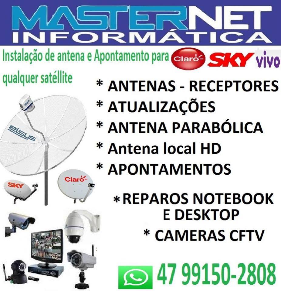 Masternet informatica e antenas