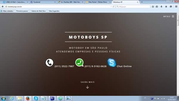Motoboy sao paulo