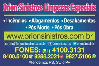 Orion sinistros. Guia de empresas e serviços